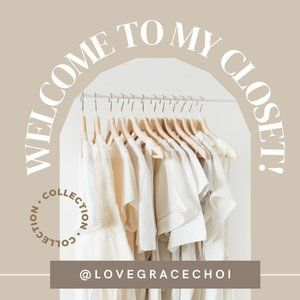 ✨ Welcome to my Closet ✨